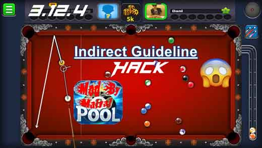 8 Ball Pool Indirect Guidelines Tool